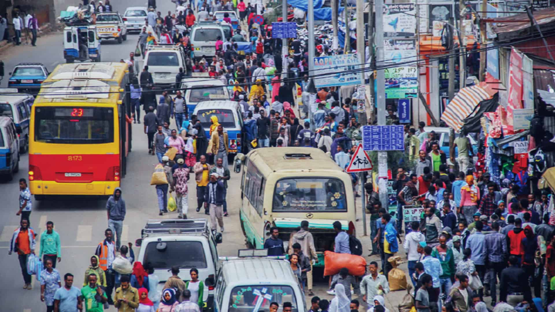 Addis Public Realm on Streets